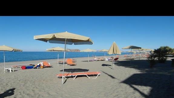 Hotel Geraniotis - plaża