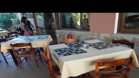 Hotel Adelais - taras restauracyjny
