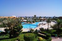Hotel Amwaj Oyoun Resort & Spa - widok z tarasu restauracji