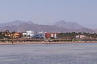 Hotel Amwaj Oyoun Resort & Spa - widok z mola