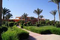 Hotel Amwaj Oyoun Resort & Spa - wspanialy ogród hotelowy
