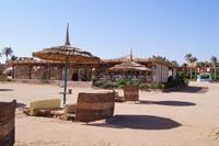 """Hotel Amwaj Oyoun Resort & Spa - restauracja + drink bar"""" fishermann """" przy plazy"""