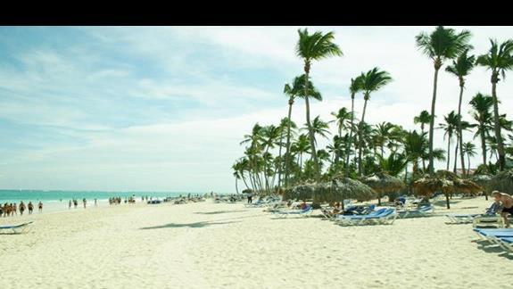 plaża resortu