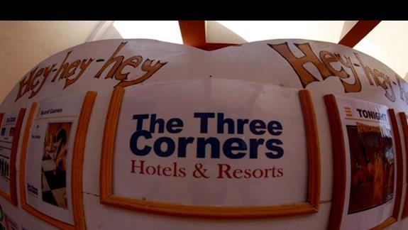 Rozpiska animacji w hotelu Three Corners Triton Sea Beach