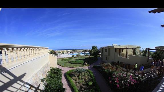 Land View w hotelu Three Corners Fayrouz Plaza Beach Resort