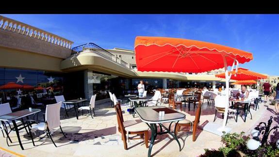Restauracja glówna w hotelu Three Corners Fayrouz Plaza Beach Resort
