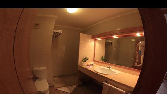 Lazienka w hotelu Three Corners Fayrouz Plaza Beach Resort
