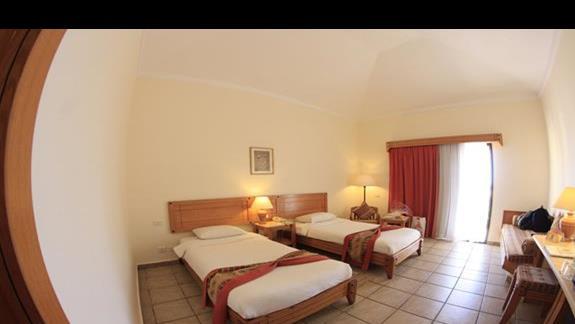 Pokój dwuosobowy w hotelu Three Corners Fayrouz Plaza Beach Resort