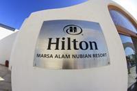 Hotel Hilton Marsa Alam Nubian Resort - Napis pelny profesjonalizm  w hotelu Hilton Marsa Alam Nubian Resort