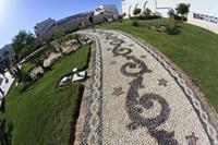 Hotel Hilton Marsa Alam Nubian Resort - Recznie robione sciezki w hotelu Hilton Marsa Alam Nubian Resort