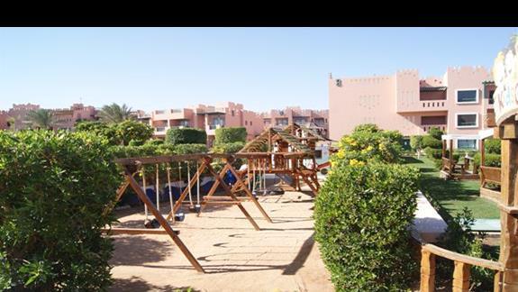 Plac zabaw dla dzieci w hotelu Rehana Sharm Resort
