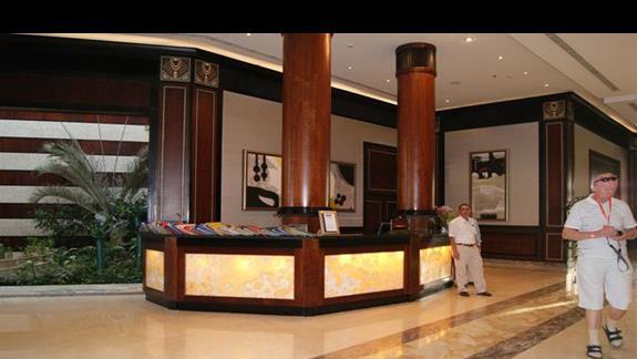 Recepcja hotelu Stella Di Mare