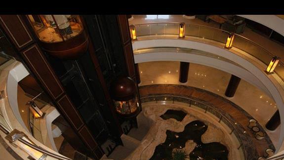Lobby hotelu Stella Di Mare