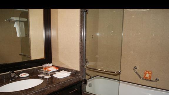 Łazienka w pokoju hotelu Stella Di Mare