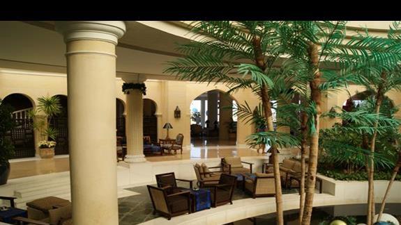 Lobby hotelu Savoy