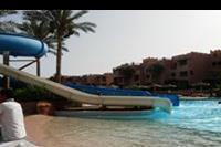 Hotel Rehana Sharm Resort - Basen i zjeżdżalnia na terenie hotelu