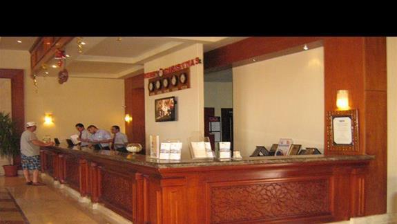 Recepcja w Hotelu Rehana Royal
