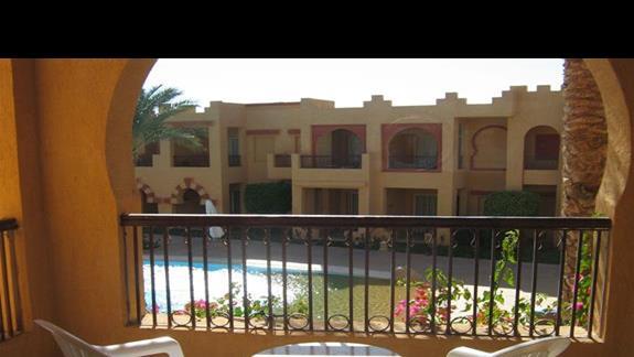 Widok z pokoju w Hotelu Rehana Roya
