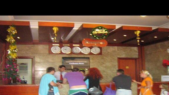 Recepcja w Hotelu Rehana Sharm
