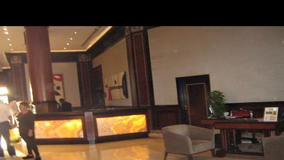 Recepcja w Hotelu Stella Di Mare.
