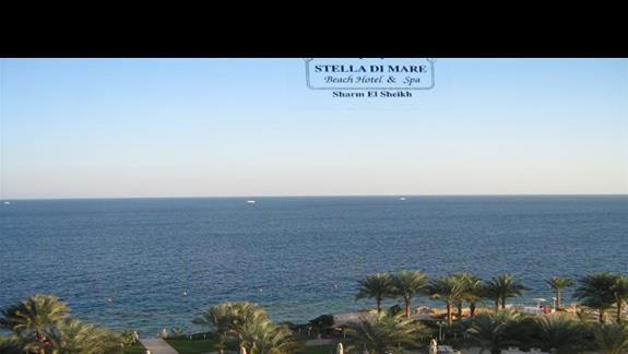 Widok z  Lobby w Hotelu Stella Di Mare