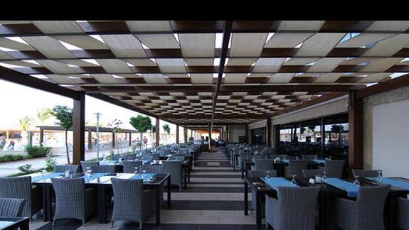 część zewnętrzna restauracji