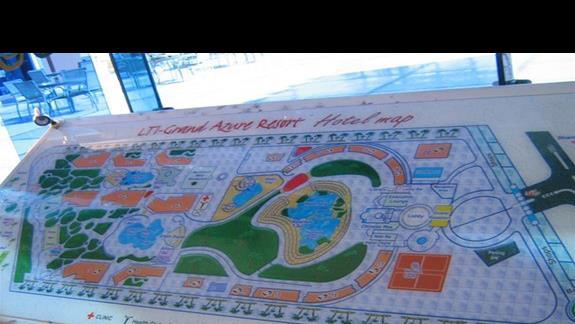 Hotel Tropicana Grand Azure - mapa