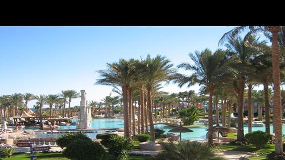 Widok z pokoju w Hotelu Tropicana Grand Azure