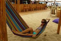 Hotel Globus - ulubiony beach-bar z m.in. hamakami zamiast krzeseł