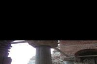 Hotel Globus - wnetrze ruin jednego z kościołow w starym Nesebarze