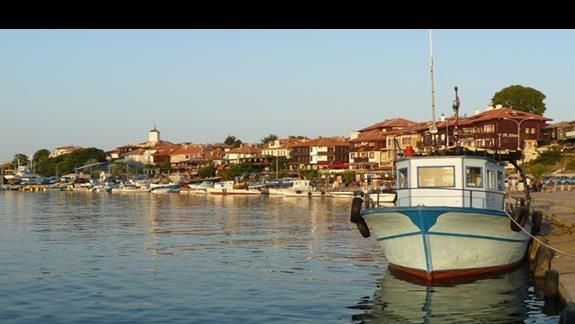 port w starym Nesebarze