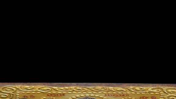 jedna z ikon wystawiona do sprzedaży na uliczkach starego Nesebaru