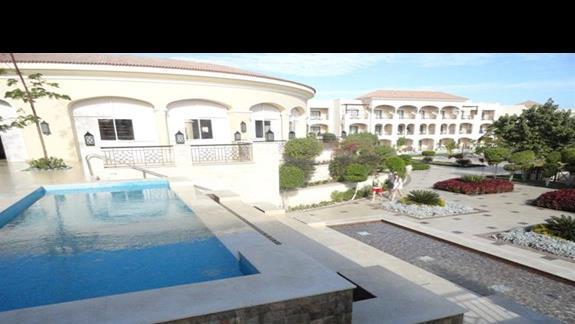 Iberotel Aquamarine - widok na hotel