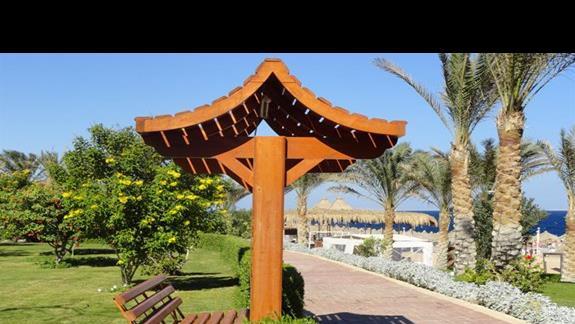 Serenity Makadi Heights - ogród