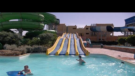 zjeżdzalnia w Aqua Parku