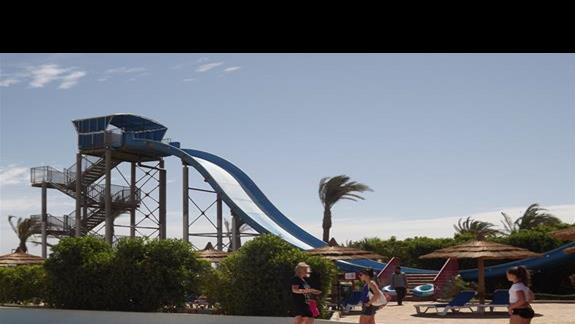 jedna ze zjeżdzalni w Aqua Parku