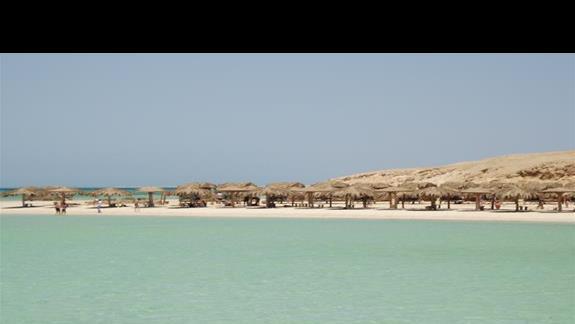 Plaża na wyspie Orange Bay