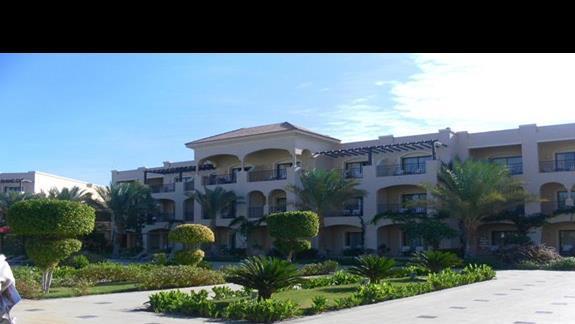 Widok z zew. hotel Iberotel Aquamarine