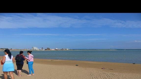 Plaża hotelu Iberotel Aquamarine