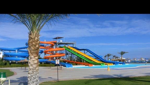 Aquapark w hotelu Iberotel Aquamarine