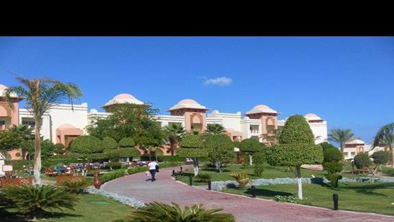Jeden z budynków hotelu Serenity Makadi Heights