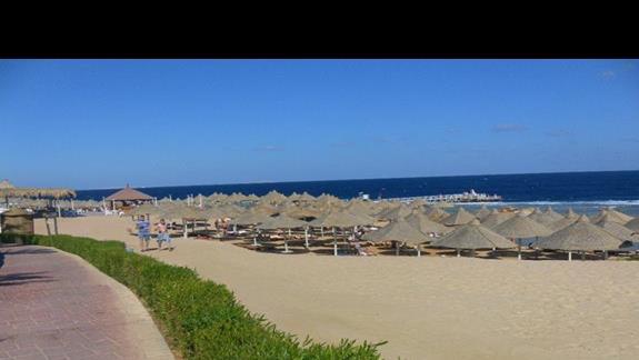 Plaża w hotelu Serenity Makadi Heights