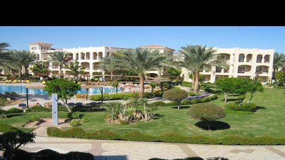 Widok z pokoju w Hotelu Jaz Mirabel Park