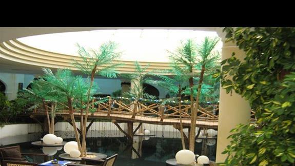 Lobby w Hotelu Savoy