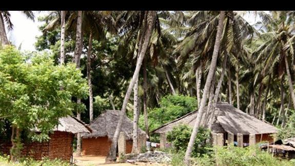 przydrożne wioski Malindi