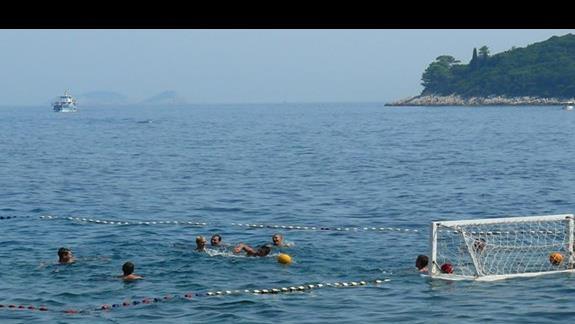 gra w wodną piłkę - Dubrownik