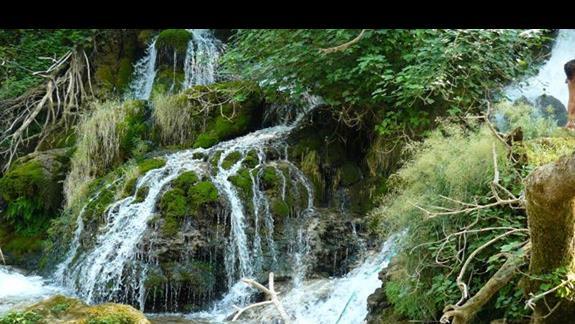 cudne wodospady