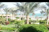 Hotel Amwaj Oyoun Resort & Spa - plaza i ogród