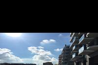 Bugibba - ulica biegnąca wzdłuż brzegu