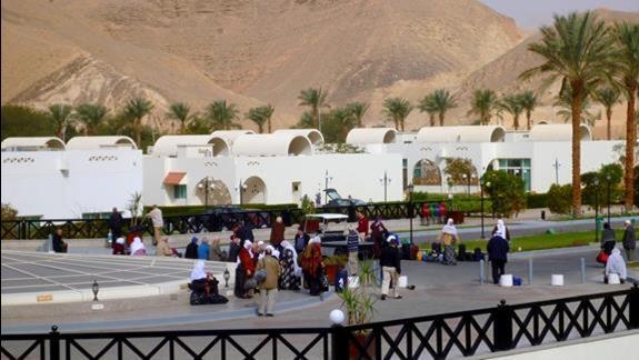 Kolejni goscie w domu :) Panstwo pochodzili z jakiegos bliskiego kraju muzulmanskiego i byli bardzo mili i kulturalni.